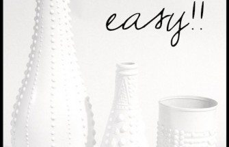Jonathan Adler Pottery DIY – After