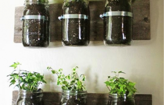Kitchen Herb Jars
