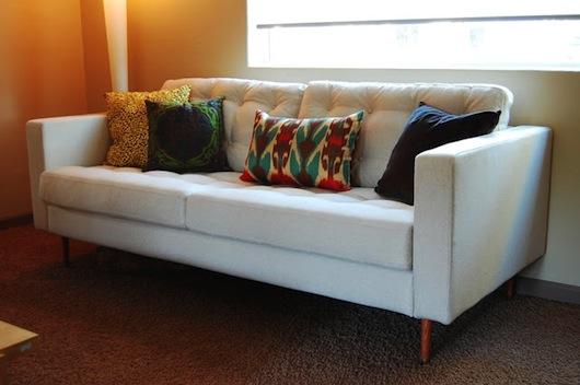 Our Mid Century KARLSTAD Sofa