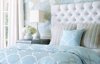 house of turquoise blue bedroom