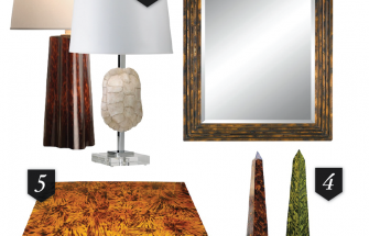 Incorporating Tortoiseshell into Your Avalon Home