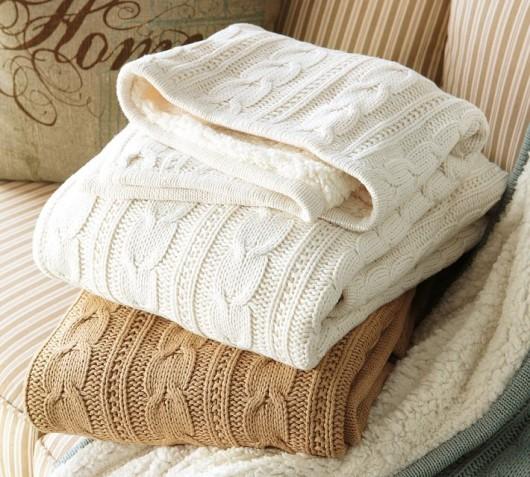 Pottery Barn Throw Blankets