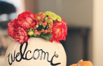 DIY Pumpkins - Greeting Pumpkin