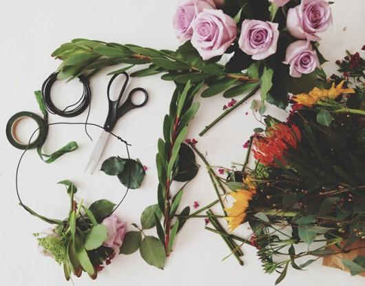 Shannon Kirsten Wildflowers Blog   DIY Floral Crown