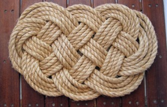 DIY Rugs | Sailing Chance - DIY Rope Rug