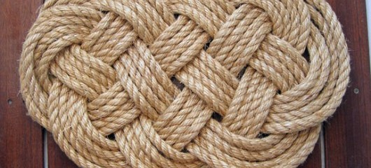 DIY Rugs | Sailing Chance - DIY Rope Rug