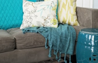 Teal & Lime | Type A or Type B? Find a Throw Blanket Style for Your Personality