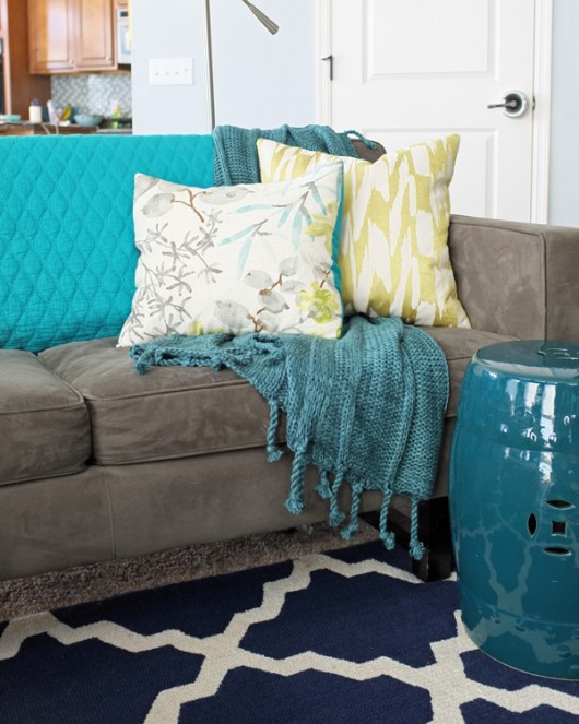 Teal Lime Type A Or B Find Throw Blanket Style For