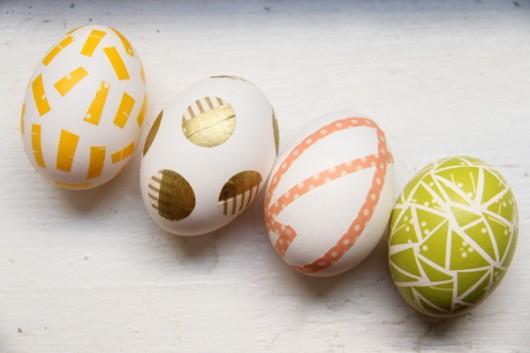 Lovely Indeed - Washi Tape Eggs