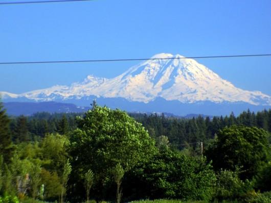 Mt. Rainier from Lynnwood, WA