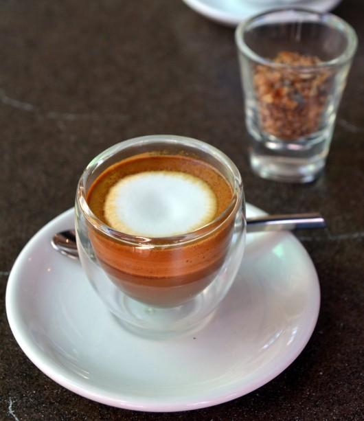 Caffè macchiato from Wikipedia