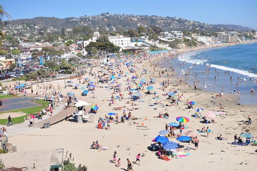 Laguna Beach - one of the best beaches in Orange County, California