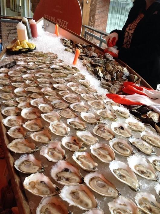 Oysters at Rialtos