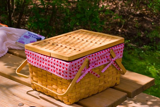 Picnic Basket for Labor Day