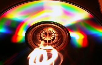 CD closeup