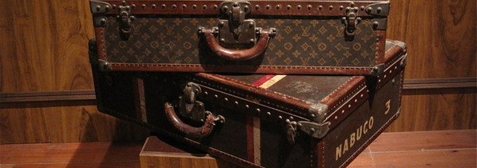 Historical suitcases