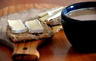 bread butter coffee