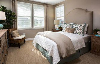 Bedroom like a catalog