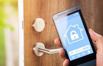 Smart Home app on phone