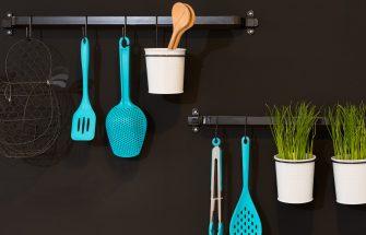 Organized Kitchen Utensils
